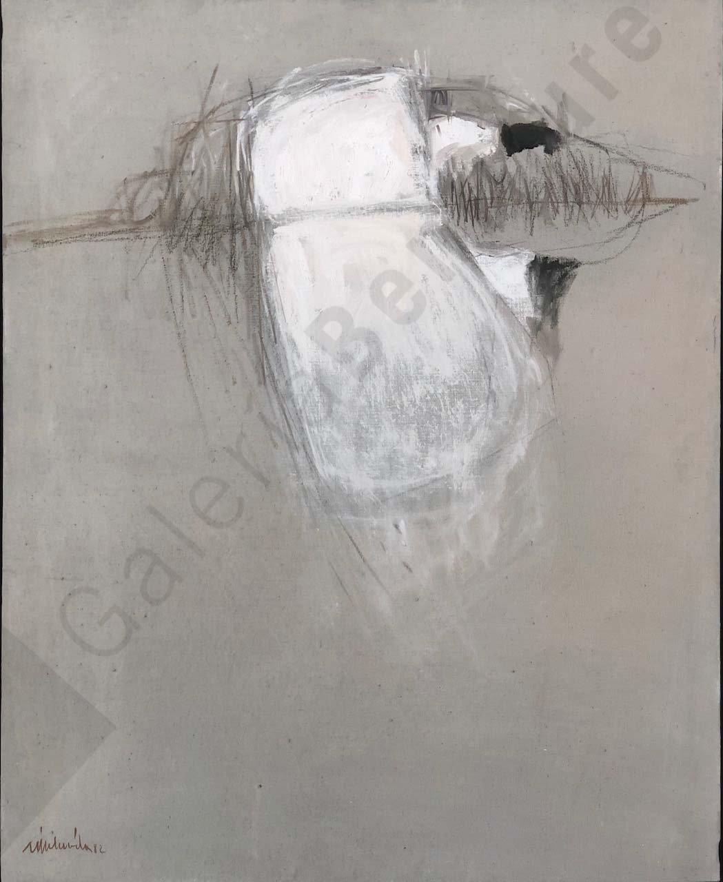 Albufera,1982 Óleo sobre lienzo 100 x 81 cm.