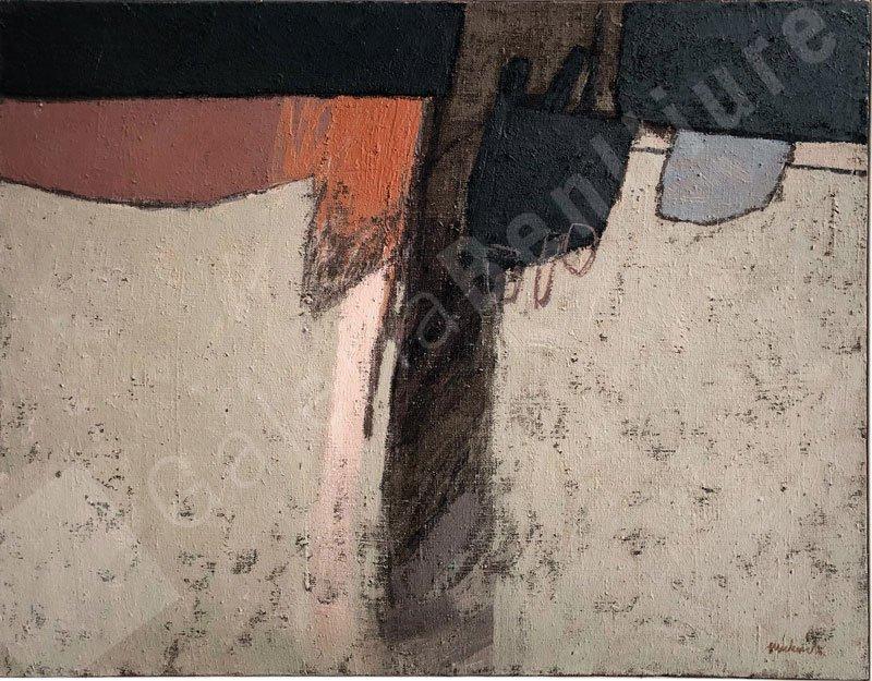 Llac Óleo sobre lienzo 81 x 100 cm.